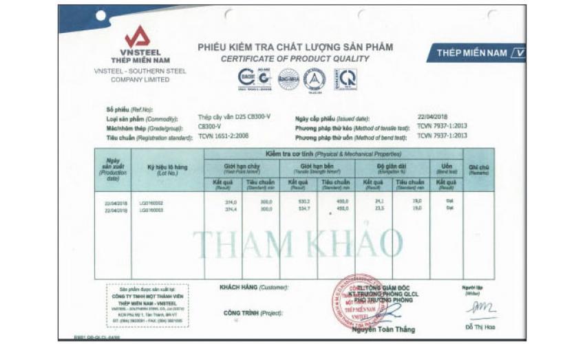 Đại lý sắt thép xây dựng cấp 1 uy tín tại TP.HCM - Sắt Thép Lộc Hiếu Phát