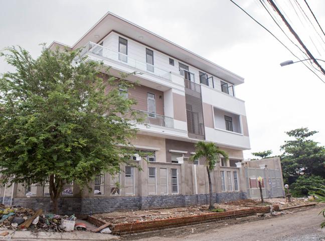 Hình ảnh tính diện tích khi xây nhà ở