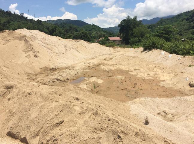 Công ty cung cấp cát xây dựng