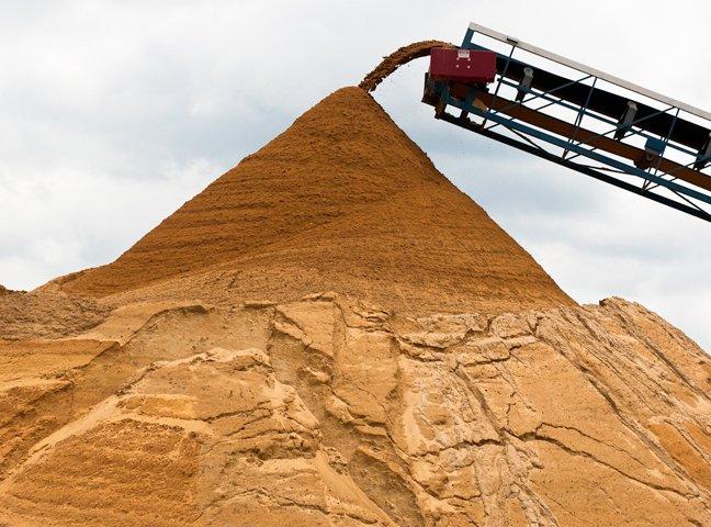 Cát bê tông (cát vàng)