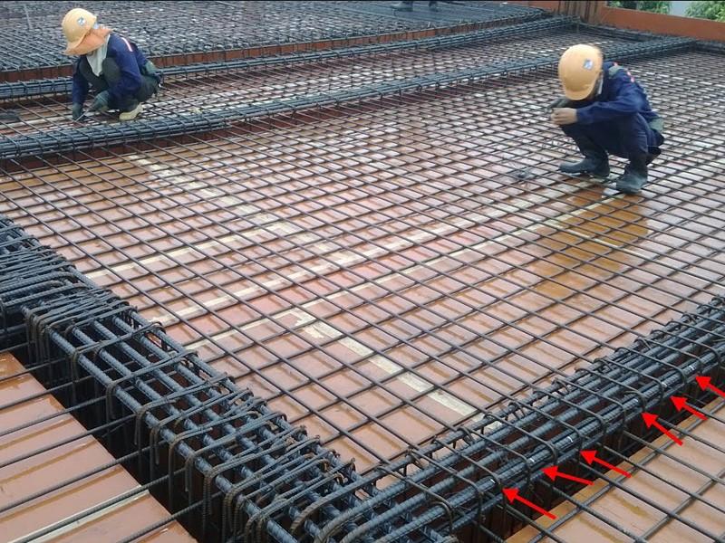 1m2 sàn nhà dân dụng cần bao nhiêu kg thép?