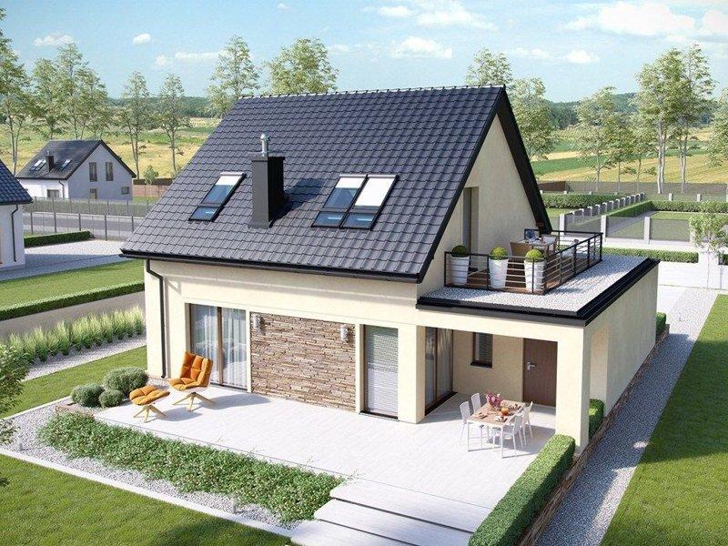 Hình ảnh minh họa về tôn lợp mái